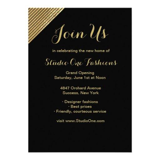 Convites da grande inauguração do acento do ouro