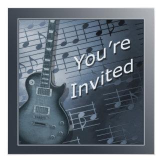 Convites da guitarra - multi uso