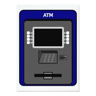 Convites da máquina do ATM