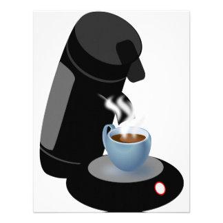 Convites da máquina do café