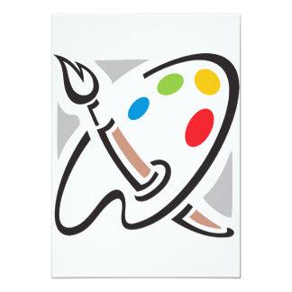 Convites da paleta dos pintores