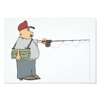 Convites da pesca do homem