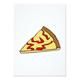 Convites da pizza de queijo
