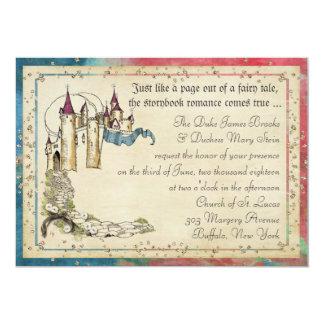 Convites da princesa conto de fadas