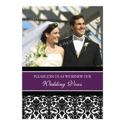 Convites da renovação do voto de casamento da foto