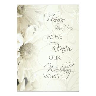 Convites da renovação do voto de casamento das