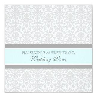 Convites da renovação do voto de casamento tema