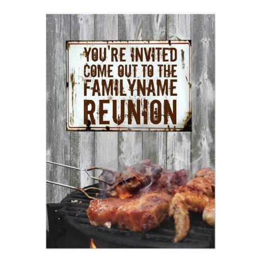 Convites da reunião de família