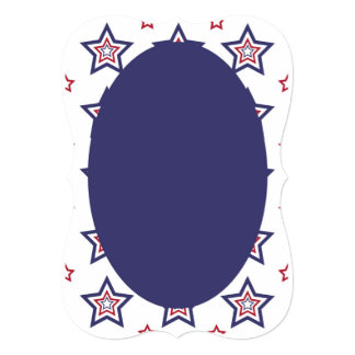 Convites de casamento patrióticos clássicos