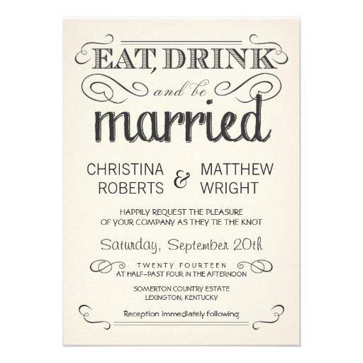 Convites de casamento rústicos do pergaminho do cr