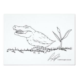 Convites de Crocoduck