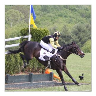 Convites de Eventing dos cavalos