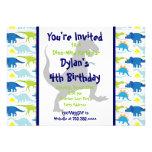 Convites de festas 5x7 do aniversário de criança d