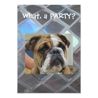Convites de festas, aniversário ou algum inglês do