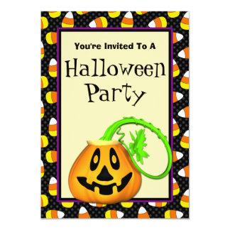 Convites de festas bonitos do Dia das Bruxas da