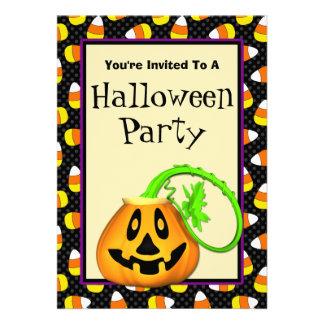 Convites de festas bonitos do Dia das Bruxas da ab