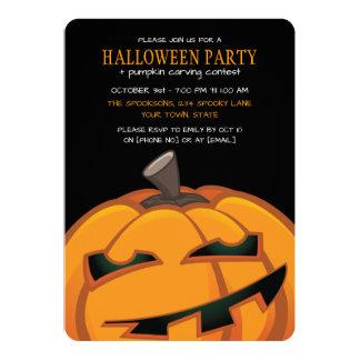 Convites de festas cinzelados assustadores do Dia