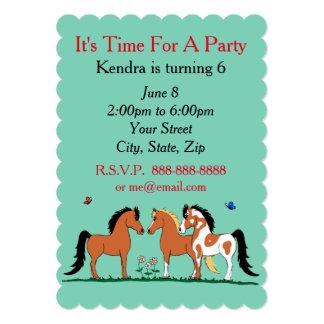 Convites de festas customizáveis dos amigos do
