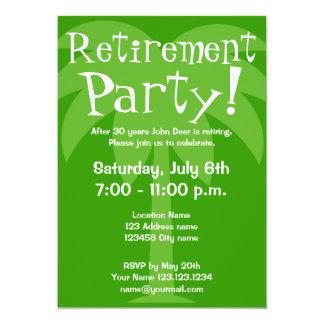Convites de festas da aposentadoria