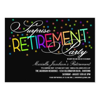 Convites de festas da aposentadoria da surpresa