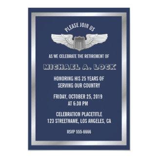 Convites de festas da aposentadoria para o piloto