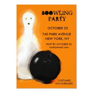 Convites de festas da boliche do Dia das Bruxas