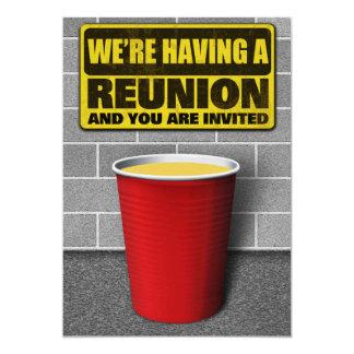 Convites de festas da reunião