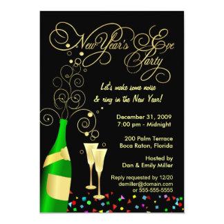 Convites de festas da véspera de Ano Novo