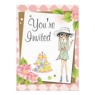 Convites de festas de aniversários adolescentes à