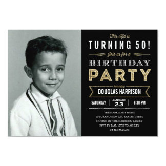Convites de festas de aniversários adultos da foto