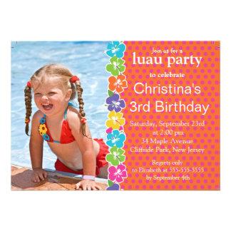 Convites de festas de aniversários bonitos da meni