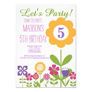 Convites de festas de aniversários bonitos do