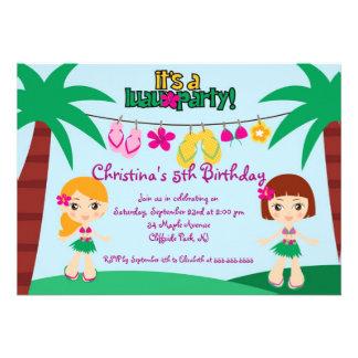 Convites de festas de aniversários bonitos do part