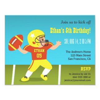 Convites de festas de aniversários coloridos do