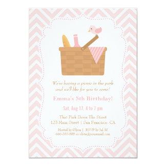Convites de festas de aniversários cor-de-rosa do