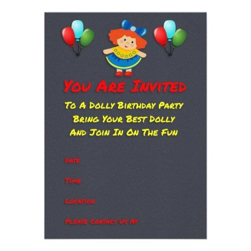 Convites de festas de aniversários da zorra