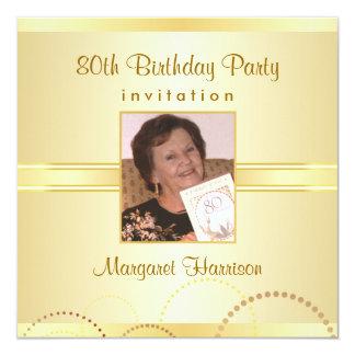 convites de festas de aniversários do 80 com opção