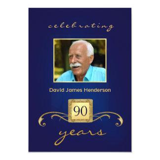convites de festas de aniversários do 90 -