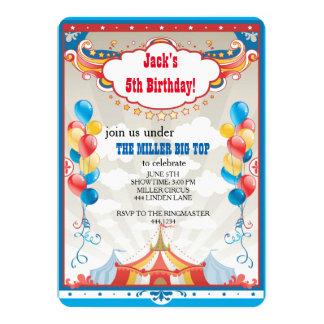 Convites de festas de aniversários do carnaval da