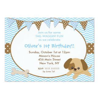 Convites de festas de aniversários do filhote de