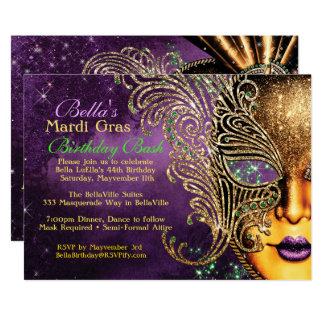 Convites de festas de aniversários do mascarada do
