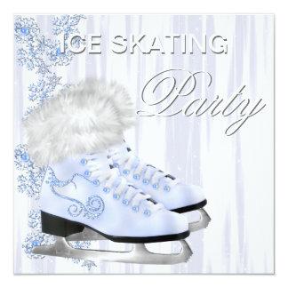 Convites de festas de aniversários do patinagem no