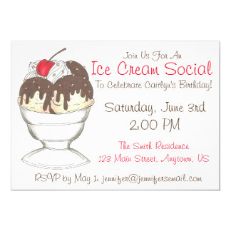 Convites de festas de aniversários do Social do