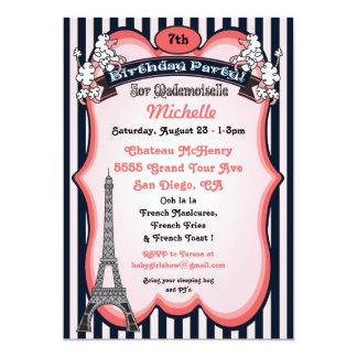 Convites de festas de aniversários do tema de