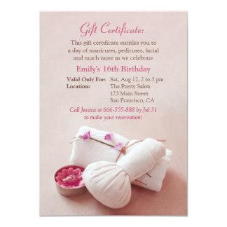 Convites de festas de aniversários dos termas do