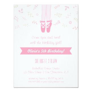 Convites de festas de aniversários elegantes da