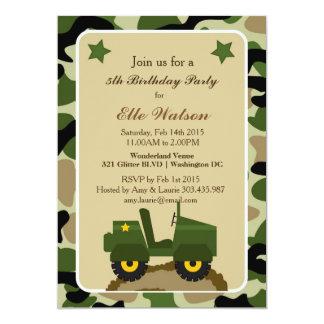Convites de festas de aniversários militares de