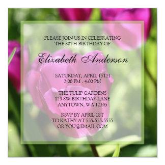 Convites de festas de aniversários roxos do 80 das