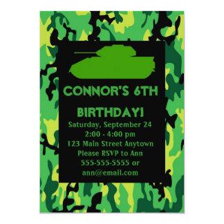 Convites de festas de aniversários verdes da