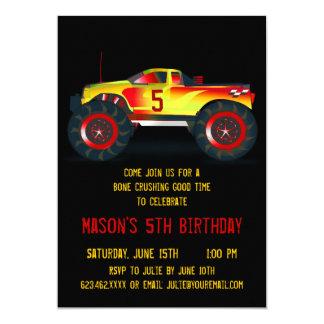 Convites de festas de aniversários vermelhos